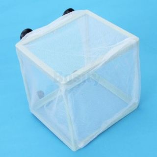 Aquarium Fish Tank Net Baby Fish Breeder Breeding Socker Cap Hatchery Hospital