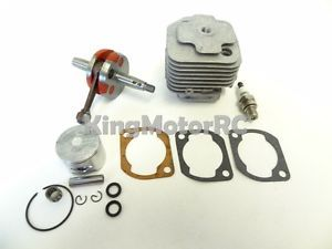 1 5 King Motor RC Gas Engine 30 5cc Big Bore Rebuild Kit Baja Fits CY HPI Rovan