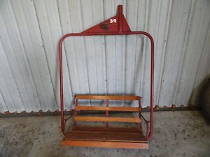vintage ski lift chair special sale local pick up