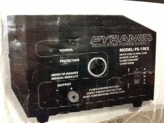 Pyramid PS 15KX 10 Amp Power Supply CB Ham Radio Cell PS15KX Cigarette Lighter
