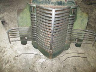IHC International Truck Grill Solid 1949 49 1948 48 1947 47 1946 Rat Rod KB 1 2