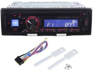 Alpine CDE 141 CD  Player Am FM Car Stereo Receiver Front USB iPod 50x4