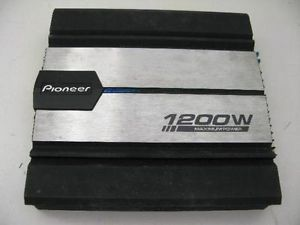 Pioneer GM 6100 4 Channel Power Amplifier w Built in Crossover Car Audio