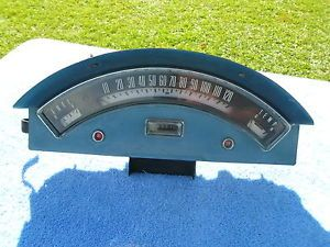 1957 Ford Custom 300 Fairlane Speedometer Fuel Temp Dash Gauge Cluster