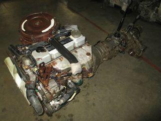 Nissan Homy Navara Terrano Caravan Pathfinder TD27 Diesel Engine JDM Motor Used