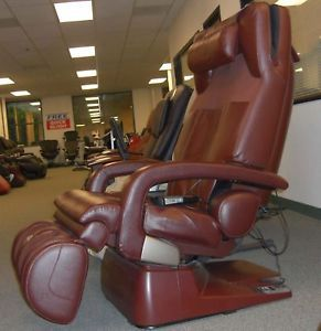 Human Touch HT 7450 Zero Anti Gravity Massage Chair Recliner Dark Chocolate