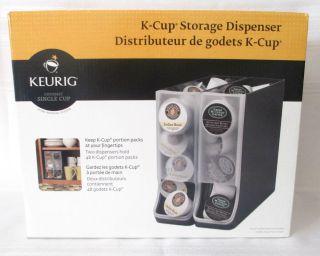 ... Keurig K Cup Countertop Storage Dispenser Set Of 2 Coffee Pod Storage  New ...