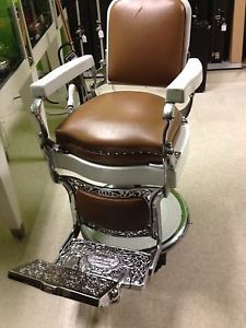Vintage Koken Barber Chair 1920s 1930s