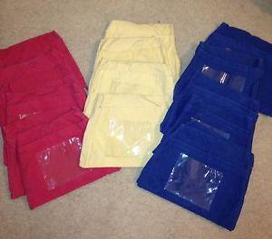 Classroom Set 17 Seat Sack Pocket Chair Covers Handmade