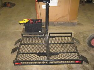 Wheel Chair Lift Electric 12 Volt Self Contained Battery 1000 lb Capacity