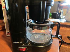 Mr Coffee 4 Cup Brewer Brew Kitchen Pot Vintage Glass Coffee Maker Cheap