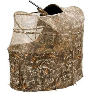 Ameristep One Man Wing Shooter Duck Hunting Chair Blind Max 4 Camo Am 3326
