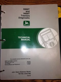 John Deere 9400T Tractor Diagnostic Technical Manual