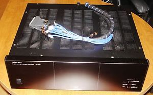 Rotel RB 985 5 Channel Power Amplifier with DB25 Interconnect Cables