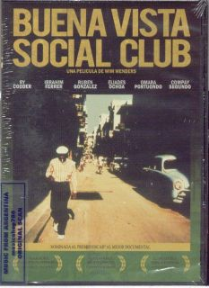 DVD Buena Vista Social Club Movie Documentary New Ry Cooder Ibrahim Ferrer