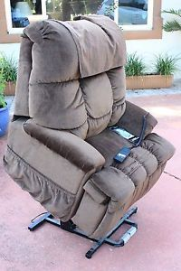 med lift chair brown 5500 series