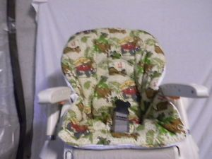 Chicco Polly High Chair Cover Scooby Doo Safari Camp