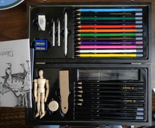 Royal Art Sketching Drawing Kit Beginners Craft Sketch Set 30 PC Pad Book