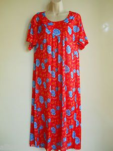 New Plus House Dress Duster Lounge Pajama Night Gown Sleepwear Colors