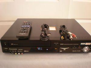 Panasonic Model DMR EZ48V VHS DVD Recorder Tuner