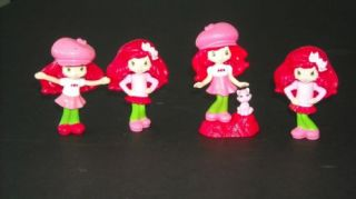 Strawberry Shortcake Figures or Cake Toppers