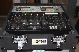 American DJ DCD Pro 300 MK2 RadioShack SSM 1750 Mixer Amplifier Rack Speakers