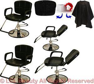 4 Reclining All Purpose Hydraulic Styling Barber Chair Shampoo Salon Equipment