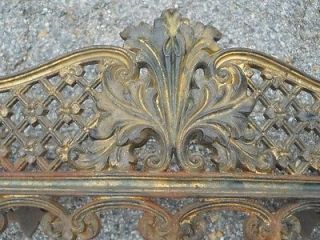 Antique Cast Iron Small Fire Grate Late 1800s Central Virginia