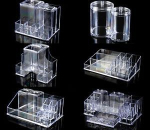 Cosmetic Organizer Luxury Jewelry Acrylic Makeup Case Drawer Clear Cabinet Box