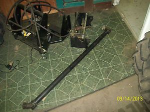 John Deere 2210 Front Quick Hitch Adapter Front PTO Drive Shaft