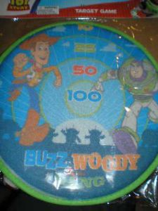 Toy Story Buzz Velcro Ball Target Game Party Supplies