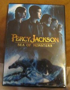 Percy Jackson Sea of Monsters DVD 2013 12 17 Release Case Artwork DVD