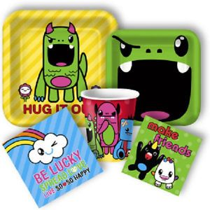 So So Happy Monsters Birthday Party Supplies Choose Items You Need from List