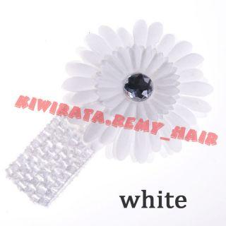 New Baby Boy Girl Kid Newborn Toddler Headband Hair Bow Flower Clip Cute Gift BB