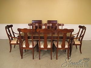 18843 Ethan Allen British Classics Dining Table and Chairs Set