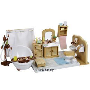 Calico Critters Nightlight Nursery Furniture Set New - Calico critters bathroom