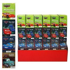 Disney Cars 2 12 Mini Game Cards 3 Packs Birthday Supplies Party Favors