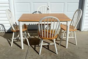 John Thomas Dining Table and 4 Chairs