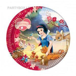 Birthday Party Supplies Disney Princess Snow White Plates