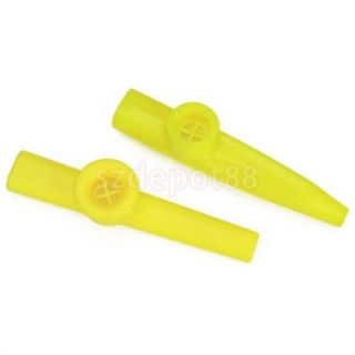 Plastic Kazoo Fun Easy to Play Membranophone 4 Colors