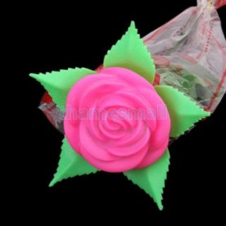 Valentine Gift Artificial LED Rose Flower Lamp Night Light Wedding Party Decor