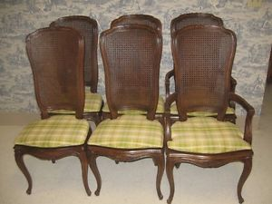 Henredon Four Centuries Collection Set of 6 Matching Chairs