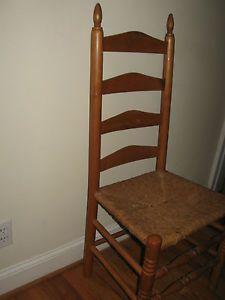 ... Antique Rush Seat Ladderback Chair Golden Oak Great Desk Chair Atlanta  GA ...
