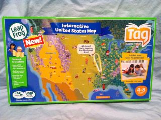 LeapFrog Tag Reader Books Cards Map Lot