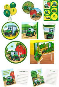 Breathtaking Johnny Tractor Birthday Supplies Pictures - Best Image ...