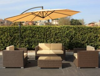 Outdoor Wicker Patio Furniture Sofa Set Sectional Chair Dining Coffee Table