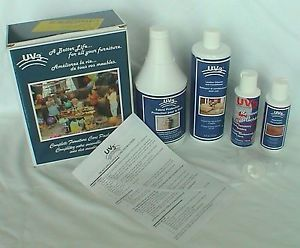 UV3 Complete Furniture Care Package Kit Fabric Leather Wood Spot Remover NIP