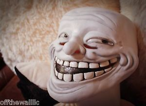Troll Face Meme Halloween Mask