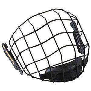 Z Leader HV5300 Black Metal Hockey Helmet Face Cage Face Mask Senior Adult