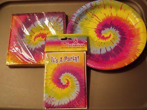 tie dye party supplies